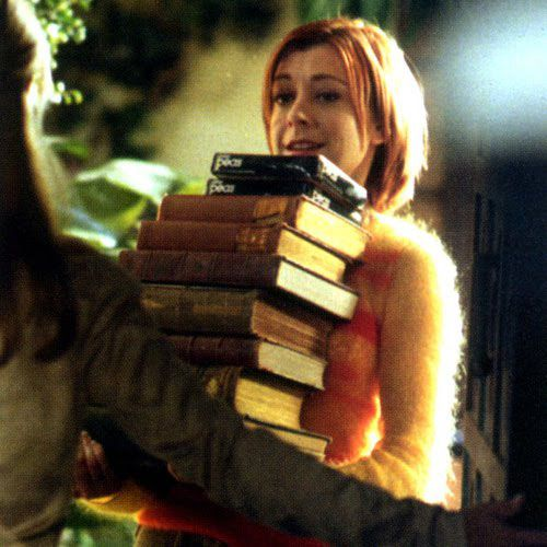 Alyson Hannigan's book recommendations