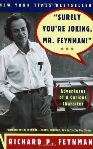 Larry Page recommends Surely You're Joking, Mr. Feynman!